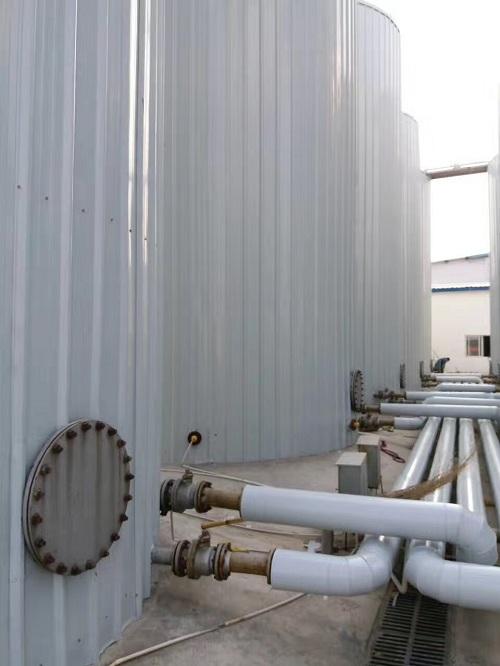 封丘乾坤路桥4000吨沥青罐项目