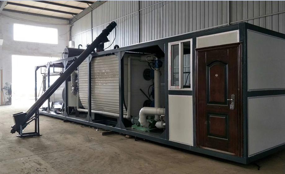 中国城建肯尼亚10吨改性设备